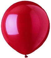 "17""  Standard Red Latex 72 Count"