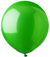 "17"" Standard Green Latex 72 Count"