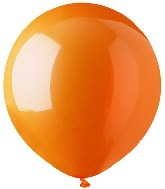 "17"" Standard Orange Latex 72 Count"