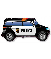 "33"" Police Car Foil Balloon"