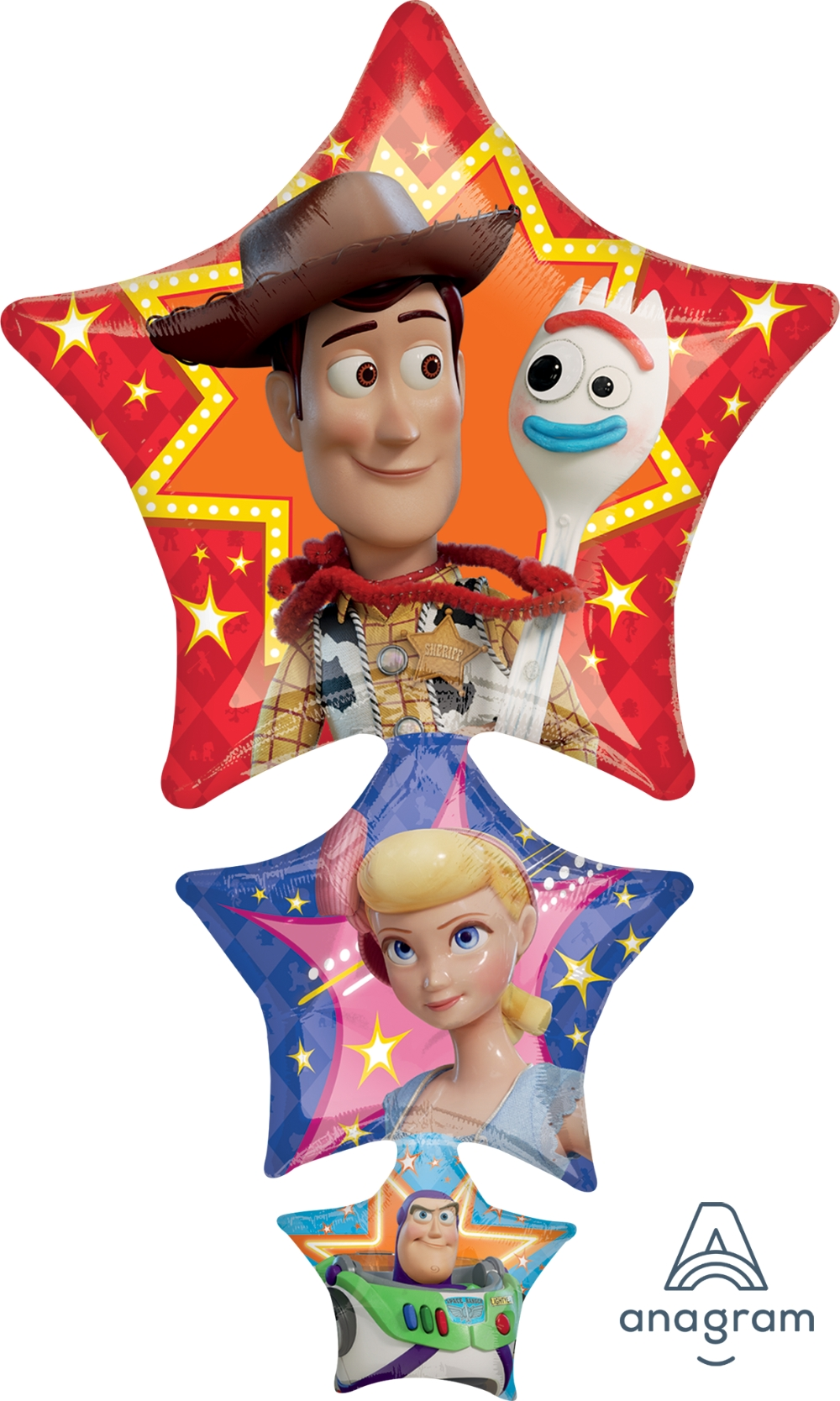 """37/"""" Toy Story Birthday Party SuperShape Mylar Foil Balloon"""