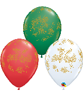 "11"" Contemporary Evergreen Latex Balloons (50 Per bag)"