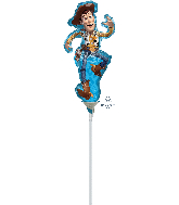 Airfill Only Toy Story 4 Woody Foil Balloon