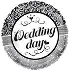 "18"" Wedding Day Ornaments Foil Balloon"