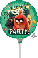 "9"" Airfill Only Angry Birds 2 Foil Balloon"