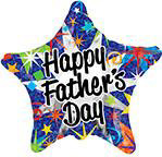 "18"" Happy Father's Day Prisma Foil Balloon"
