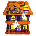"18"" Haunted House Foil Balloon"