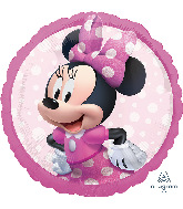 """18"""" Minnie Mouse Forever Foil Balloon"""
