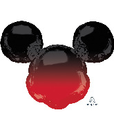 """27"""" Mickey Mouse Forever Ombré SuperShape Foil Balloon"""
