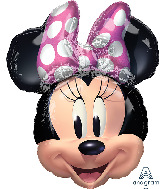 "26"" Minnie Mouse Forever SuperShape Foil Balloon"