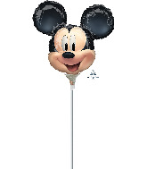 Airfill Only Mickey Mouse Forever Shape Valved Foil Balloon