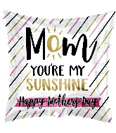 "17"" Mom Sunshine Foil Balloon"