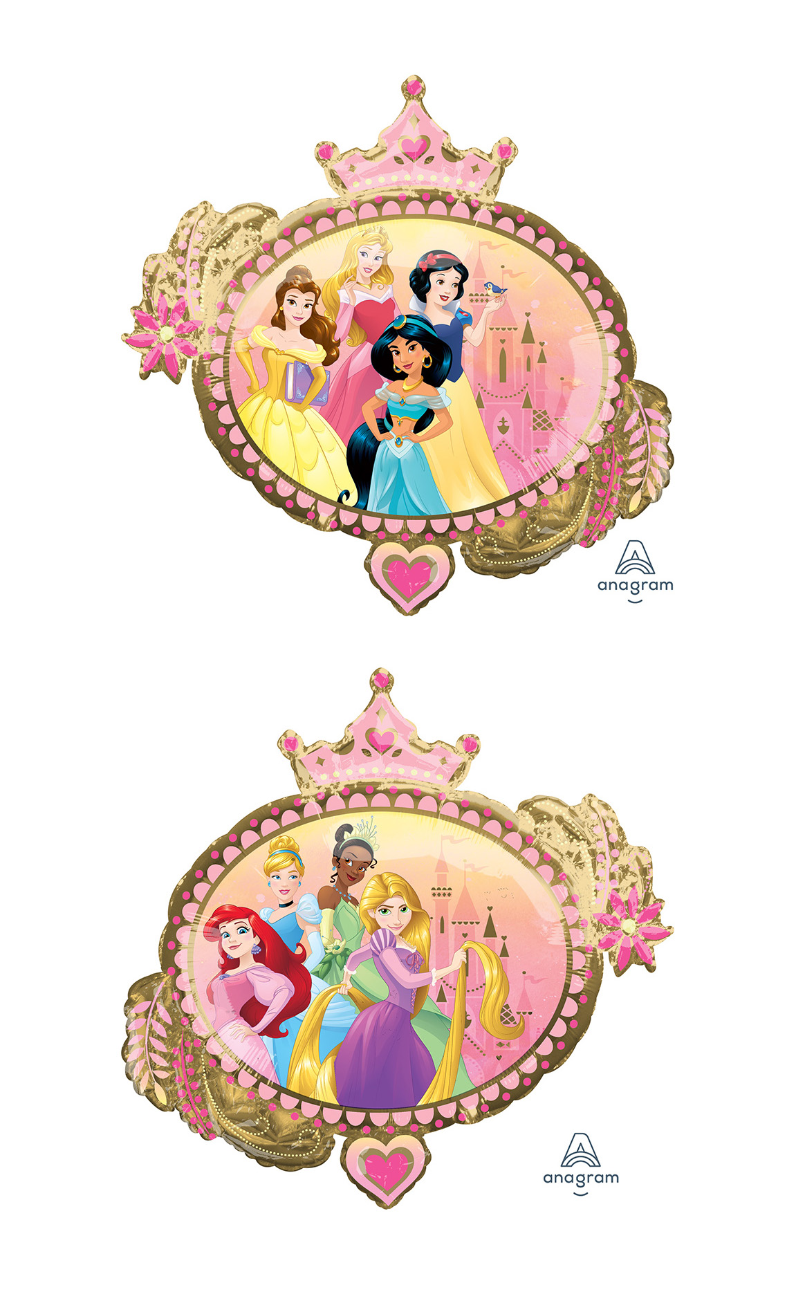 "34"" Jumbo Princess Once Upon A Time Foil Balloon"