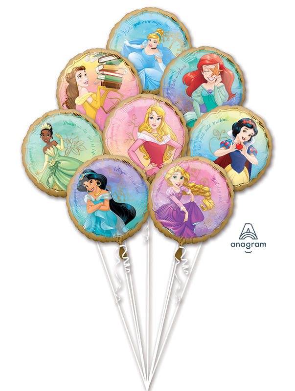 Bouquet Princess Once Upon A Time Foil Balloon