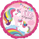 "17"" Unicorn Mom Foil Balloon"