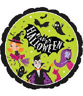 "9"" Airfill Only Halloween Party Foil Balloon"