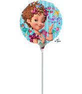 "9"" Airfill Only Fancy Nancy Foil Balloon"