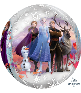 "16"" Orbz Clear Disney Frozen 2 Foil Balloon"