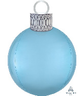 "20"" Pastel Blue Orbz™ Ornament Kit Foil Balloon"