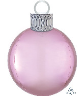 "20"" Pastel Pink Orbz™ Ornament Kit Foil Balloon"