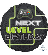 "18"" Level Up Birthday Foil Balloon"