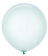 "24"" Betallatex Latex Balloons Crystal Pastel Green"