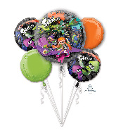 Bouquet Splatoon Foil Balloon