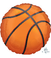 "28"" Jumbo Nothin' but Net Basketball Foil Balloon"