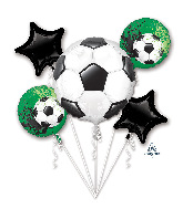 Bouquet Goal Getter Foil Balloon