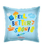 "18"" Feel Better Soon Medical Balloon"