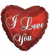 "18"" I Love You Essential Script"