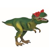 """12"""" Airfill Only Dino With Heart Glasses Foil Balloon"""