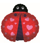 "24"" Love You Ladybug Balloon"