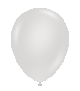 "24"" Round Fog Latex Balloons 5 Count"