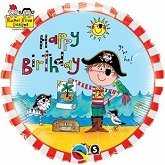 "18"" Rachel Ellen – Birthday Pirate Licensed Balloon"