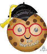 "17"" One Smart Cookie Foil Balloon"