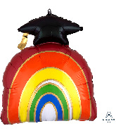 "23"" Grad Rainbow SuperShape Foil Balloon"