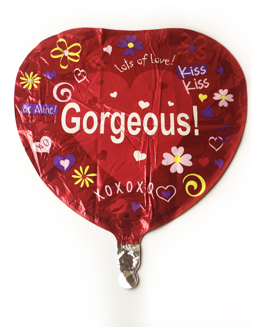 "18"" Gorgeous Fun Icon Foil Balloon"