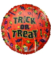"18"" Trick Or Treat Foil Balloon"