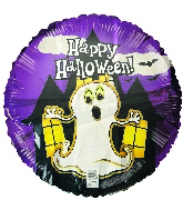 "18"" Halloween Ghost Foil Balloon"