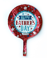 "9"" Airfill Only Father's Day Foil Balloon"