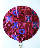 "18"" XOXO Foil Balloon"