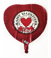 "18"" Happy Valentines Day Foil Balloon"