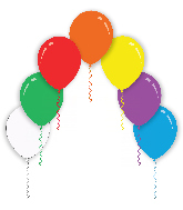 "9"" Assorted Colors Decomex Latex Balloons (100 Per Bag)"