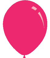 "9"" Standard Pink Decomex Latex Balloons (100 Per Bag)"