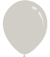 "12"" Pastel Grey Decomex Latex Balloons (100 Per Bag)"