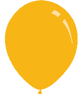 "12"" Pastel Gold Yellow Decomex Latex Balloons (100 Per Bag)"