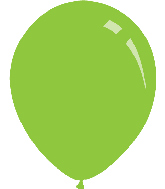 "12"" Pastel Lime Green Decomex Latex Balloons (100 Per Bag)"