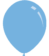 "9"" Pastel Light Blue Decomex Latex Balloons (100 Per Bag)"