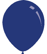 "9"" Pastel Navy Blue Decomex Latex Balloons (100 Per Bag)"